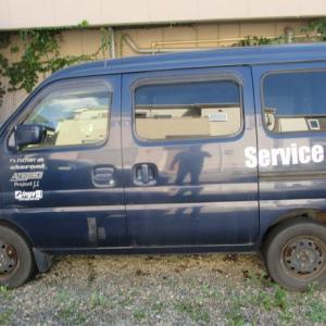 だいぶ長年にわたり活躍してくれたサービスカー完全に物置(笑) なぜだか未だ私まだお気に入り(笑)