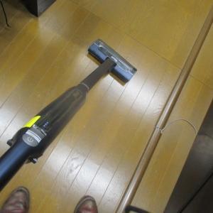 気分的に疲れた時はシャークの掃除機をかけることにより何故だかテンション上がる!