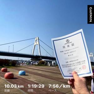 【速報】冬季!淀川ハーフマラソン(10km)