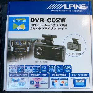 アルパイン ドラレコ DVR-C02W