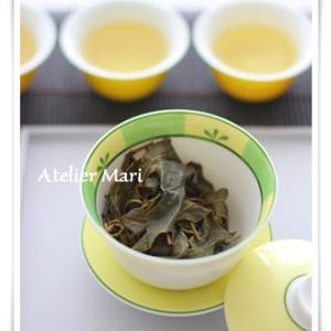 梨山烏龍茶を飲み比べ