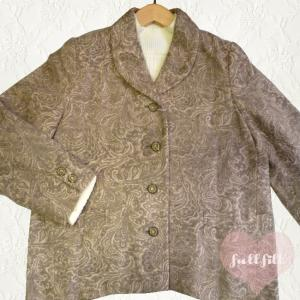 ショールカラー ウールジャケット