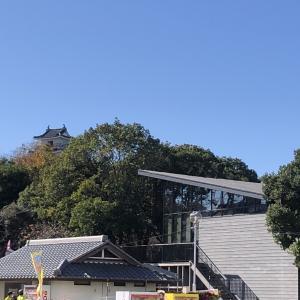 浜松城 と 浜松鉄道 奥山線跡