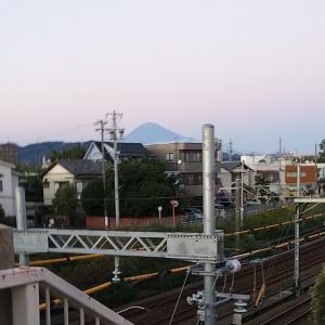 旬の富士山(笑)~合成☆