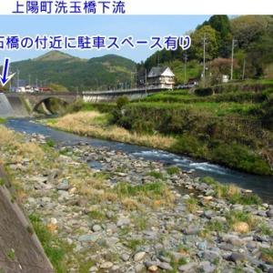 星野川&ハヤ(オイカワ)釣りポイント