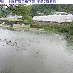 星野川の水量&風景