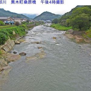 星野川の水量
