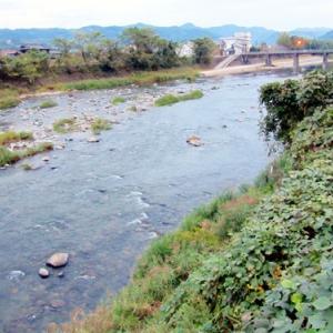 矢部川の風景