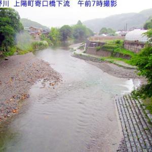 6月16日星野川&朝の水量