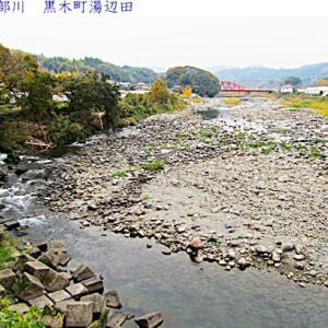 矢部川の水量