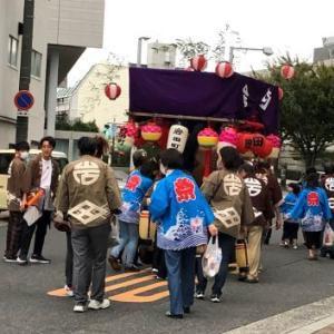 岡山神社の秋祭り