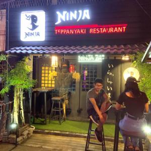 まるで渋谷?ヤンゴンに突如現れた「忍者レストラン」