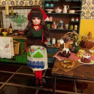 裾ロールESCきらちゃんとクリスマスキッチン