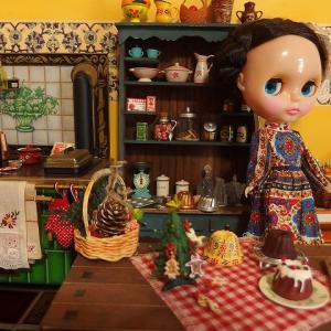 ノスタル2号とクリスマスキッチン