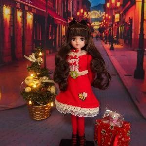 ESC裾ロールきらちゃんのクリスマスショッピング