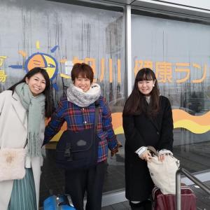 初めての旭川健康ランド♨️OFR48 2020/1/12
