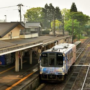 5月下旬に運行終了する「花咲くいろは HOME SWEET HOME NT202 ラッピング列車」 まったり列車の旅