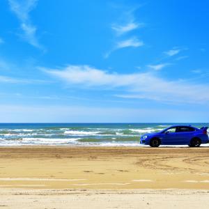 大規模な浸食からおよそ4か月 ようやく県の緊急養浜によって全面通行可能となった千里浜なぎさドライブウェイをまったりドライブ