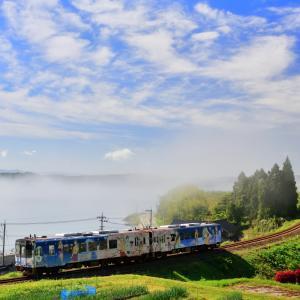 約8年間、能登里山をぼんぼって駆け抜けてきた「花咲くいろは HOME SWEET HOME ラッピング列車」ラストラン撮影日記