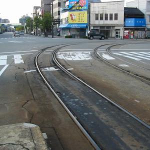 地鉄市内線2008年&2012年、旧富山大橋動画