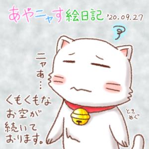 にちニャーびのタマにゃん_200927
