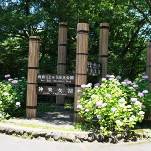神楽女湖の花菖蒲と生き物 ! 湯布院 日帰り見物ドライブ!