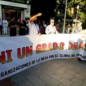 las manifestaciones por el clima en Granada 環境問題