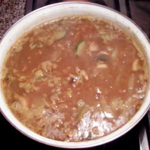 発想をちょっと変えて・・・lentejas con curry