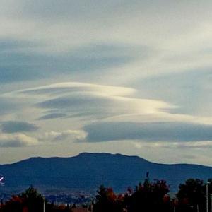芸術の秋 Nubes en el cielo