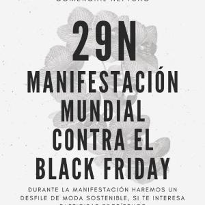 どんだけ好きなんだ!manifestaciones contra black friday