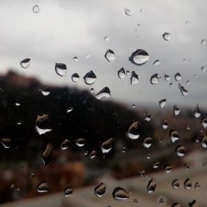 一日中雨、雨、雨