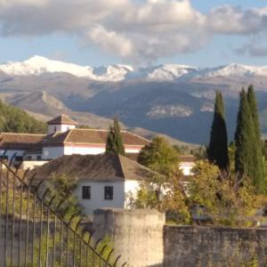 グラナダに冬到来 La sierra nevada