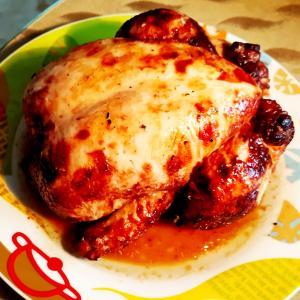 ランチにまるごとチキン Pollo asado