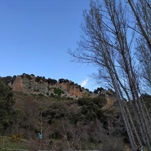 春休みの山歩き el Parque Natural Sierra de Huétor 洞窟