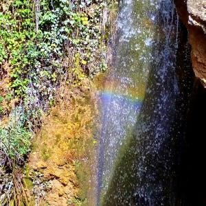 春休みの山歩き el Parque Natural Sierra de Huétor 滝