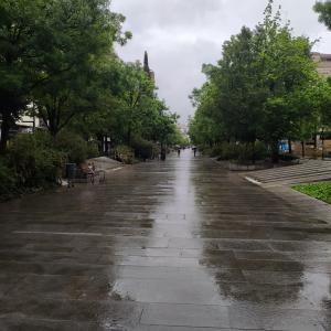 雨のグラナダ