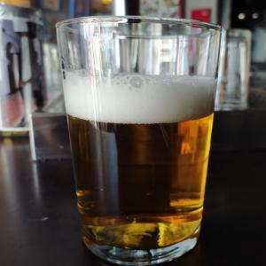 暑い夏のランチはビール。
