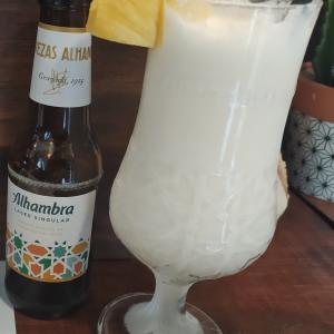 piña coladaは夏っぽいさっぱりジュース