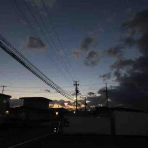 夕方のお散歩😊