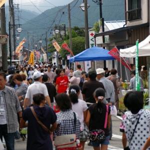 銀谷(かなや)祭り今年も盛大に終わる!