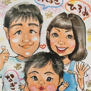 埼玉県上尾市の似顔絵イベントです♪