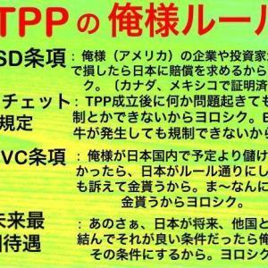 """景気悪化の上に「""""日米FTA後は日本も点滴2時間60万円なり、」"""