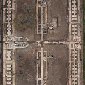 中国侵略日本軍731部隊遺跡中心エリア、整備終わる