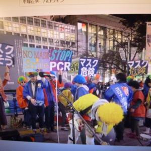 国民主権党の渋谷でのハロウィンパーティーについて