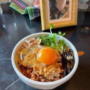 納豆たまご玄米