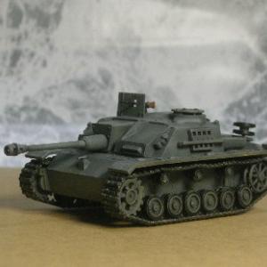 フジミ模型 1/76 Ⅲ号突撃砲 です。