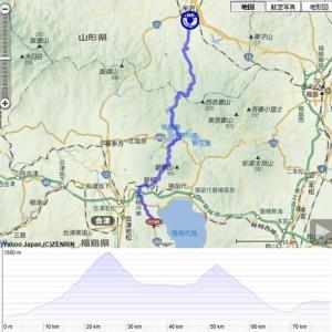 2019年ブルベ最終戦『BRM914宇都宮600(寒河江)』 PC5~PC6(白布峠編)
