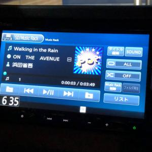 Walking ならぬ Driving in the Rain だけどね