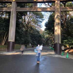 久しぶり、東京!!2〜明治神宮に幸先詣