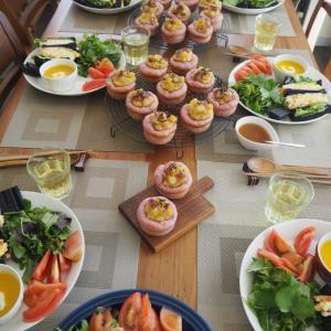 午前午後で竹炭食パン&スィートポテトディッシュのレッスン